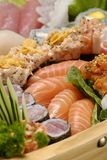 Sushi. Typical Japanese food and assiatica served fresh Stock Photography