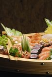 Sushi. Typical Japanese food and assiatica served fresh Stock Image