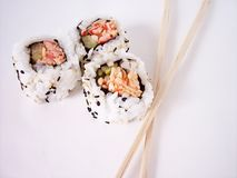 Sushi 2. Sushi in natural light royalty free stock photo
