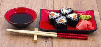 Sushi image stock