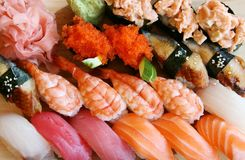 Sushi. It is possible to use as a background Stock Images