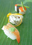 Sushi Stockfoto