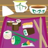 Sushi Foto de archivo libre de regalías