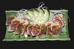 Sushi. Tuna sashimi Royalty Free Stock Images