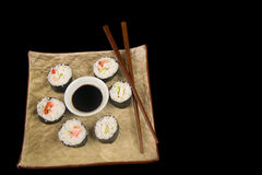 Sushi. And Rice Stock Photo