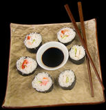 Sushi. And Rice Stock Image
