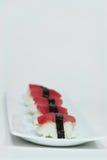 Sushi. Simple photo of tuna sushi Royalty Free Stock Photos