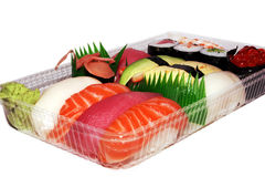 Sushi afastado Fotografia de Stock