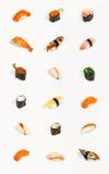 Sushi aislado Foto de archivo