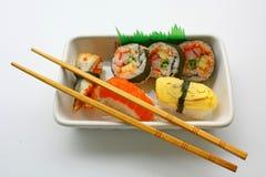 Sushi & Eetstokjes stock foto