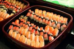 Sushi arrangement Stock Photography