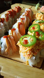 Sushi. Asian cuisine at its finest Stock Photography