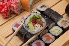 Sushi assorti stockfoto