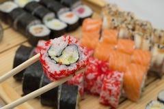 Sushi assorti Stockbild