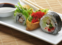Sushi Assortment Stock Photography