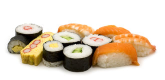Sushi assortment Royalty Free Stock Image