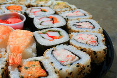 Sushi Assortment Stock Images