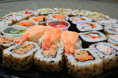 Sushi Assortment Stock Image