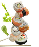 Sushi Assortment Royalty Free Stock Photography
