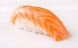 Sushi auf der Platte Stockbild