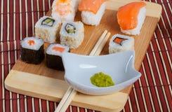 Sushi (auswahl) Stock Fotografie