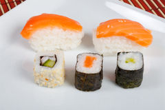 Sushi (auswahl) Stock Foto
