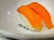 Sushi av fred royaltyfri bild