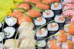Sushi background Stock Image
