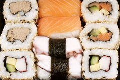 Sushi background Stock Photo