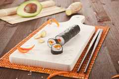 Sushi background. Royalty Free Stock Photos