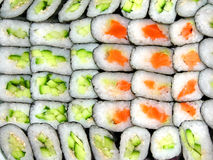 Sushi background Royalty Free Stock Image