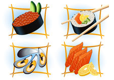 Sushi_bar Royalty Free Stock Photos