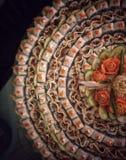 Sushi-Bar-Anzeige Stockbild