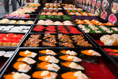 Sushi bar Stock Photography