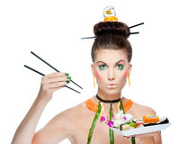 Sushi beauty Stock Photos