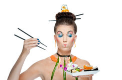 Sushi beauty Royalty Free Stock Photos