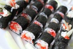 Sushi bem feito Fotografia de Stock