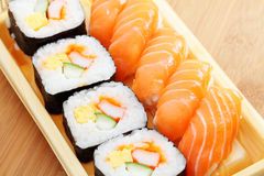 Sushi bento box Royalty Free Stock Photo