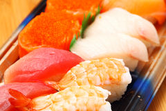 Sushi bento box Royalty Free Stock Image