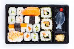Sushi bento box Stock Images