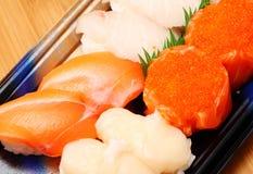 Sushi bento Kasten Lizenzfreie Stockfotografie