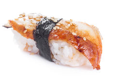 Sushi with blackhead Stock Images