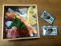 Sushi bonito Imagem de Stock Royalty Free