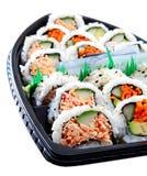 Sushi-Boot Lizenzfreie Stockbilder