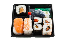 Sushi box Royalty Free Stock Image