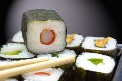 Sushi box stock photography