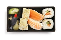 Sushi box Stock Photo