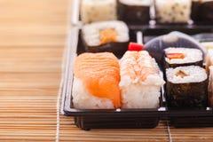 Sushi box detail Stock Photos