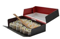 Sushi box Royalty Free Stock Images
