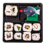 Sushi box top Stock Photography